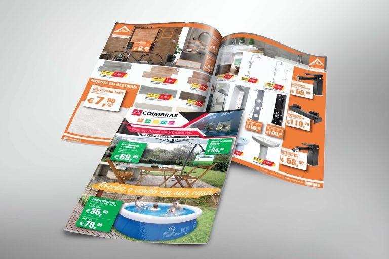 Desenvolvimento Folheto Verão Coimbras