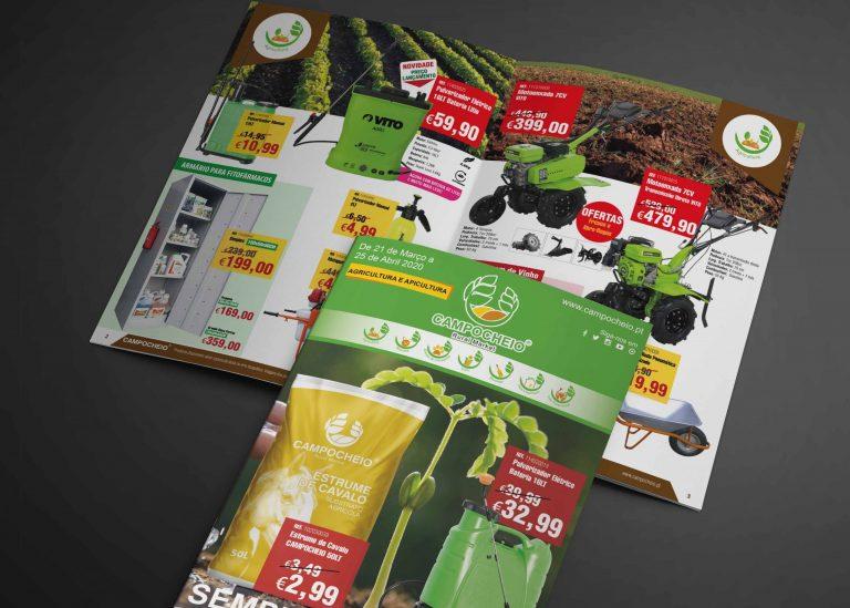 """Folheto """"Agricultura e Apicultura"""""""