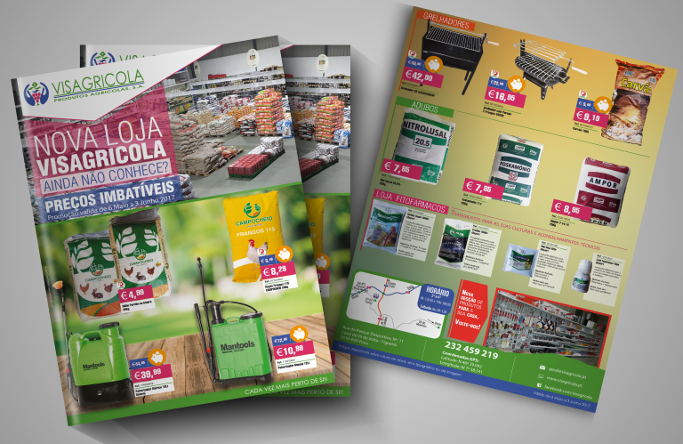 Desenvolvimento Folheto   Visagricola