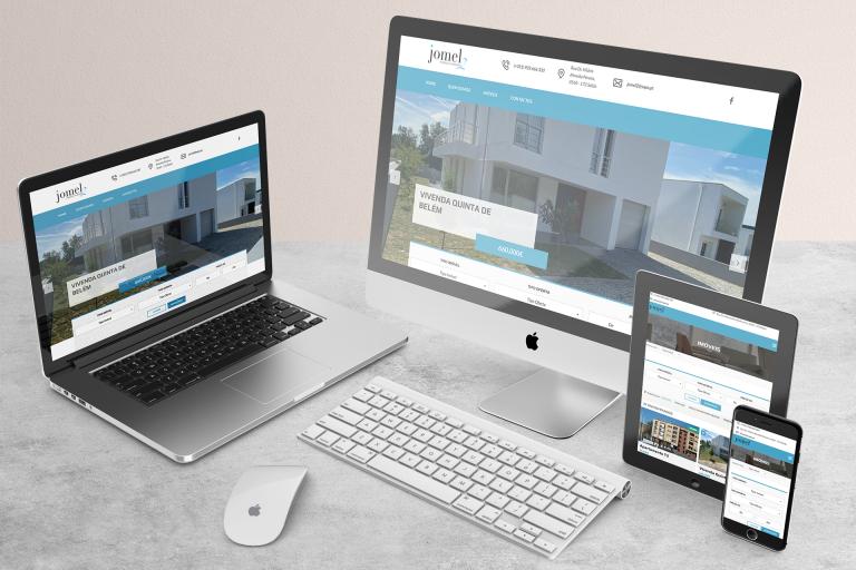 Desenvolvimento de website Jomel 2