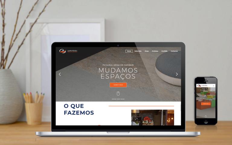 Desenvolvimento de Website Reviprotécnica