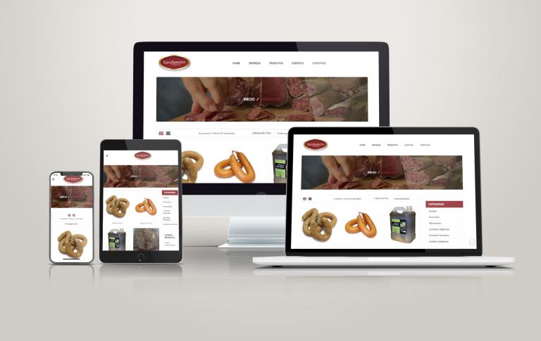 Desenvolvimento de website Varofumeiro