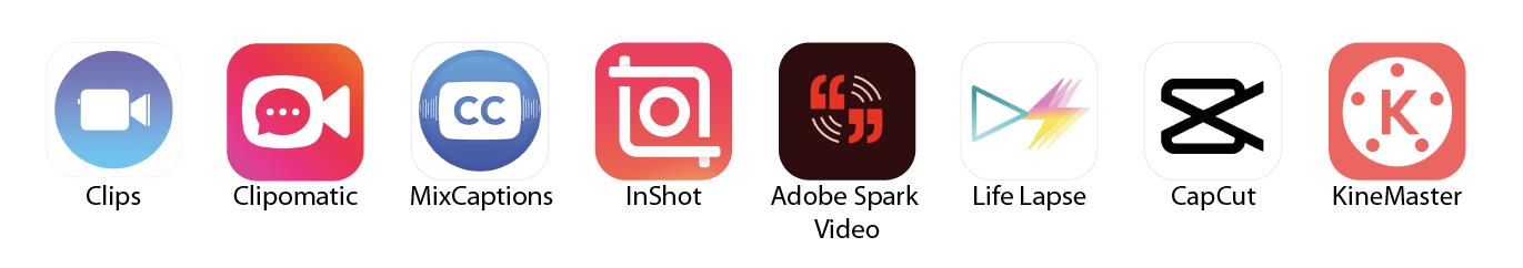 Criação e Edição de videos Apps Layoutcriativo
