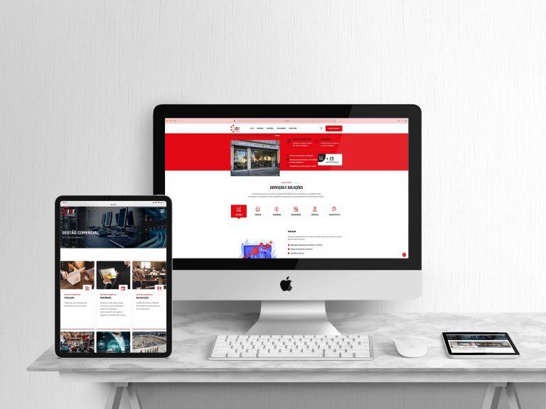 Website J5F – Soluções Informáticas