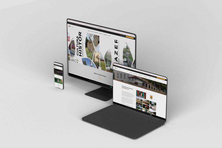 Desenvolvimento Website Freguesia de Dardavaz